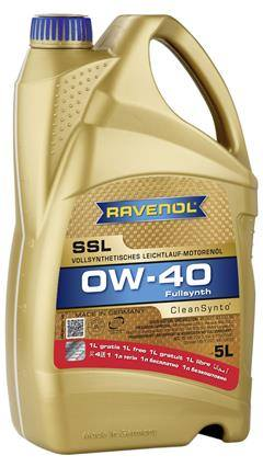 RAVENOL Super Synthetik Oel SSL SAE 0W-40