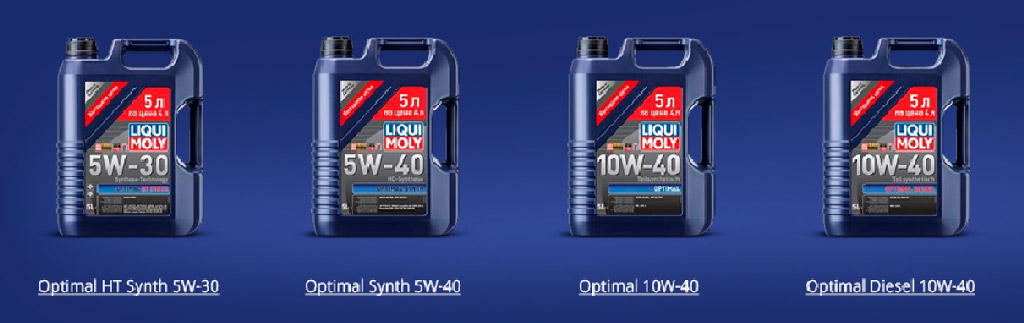 LIQUI MOLY Optimal Synth 5W30